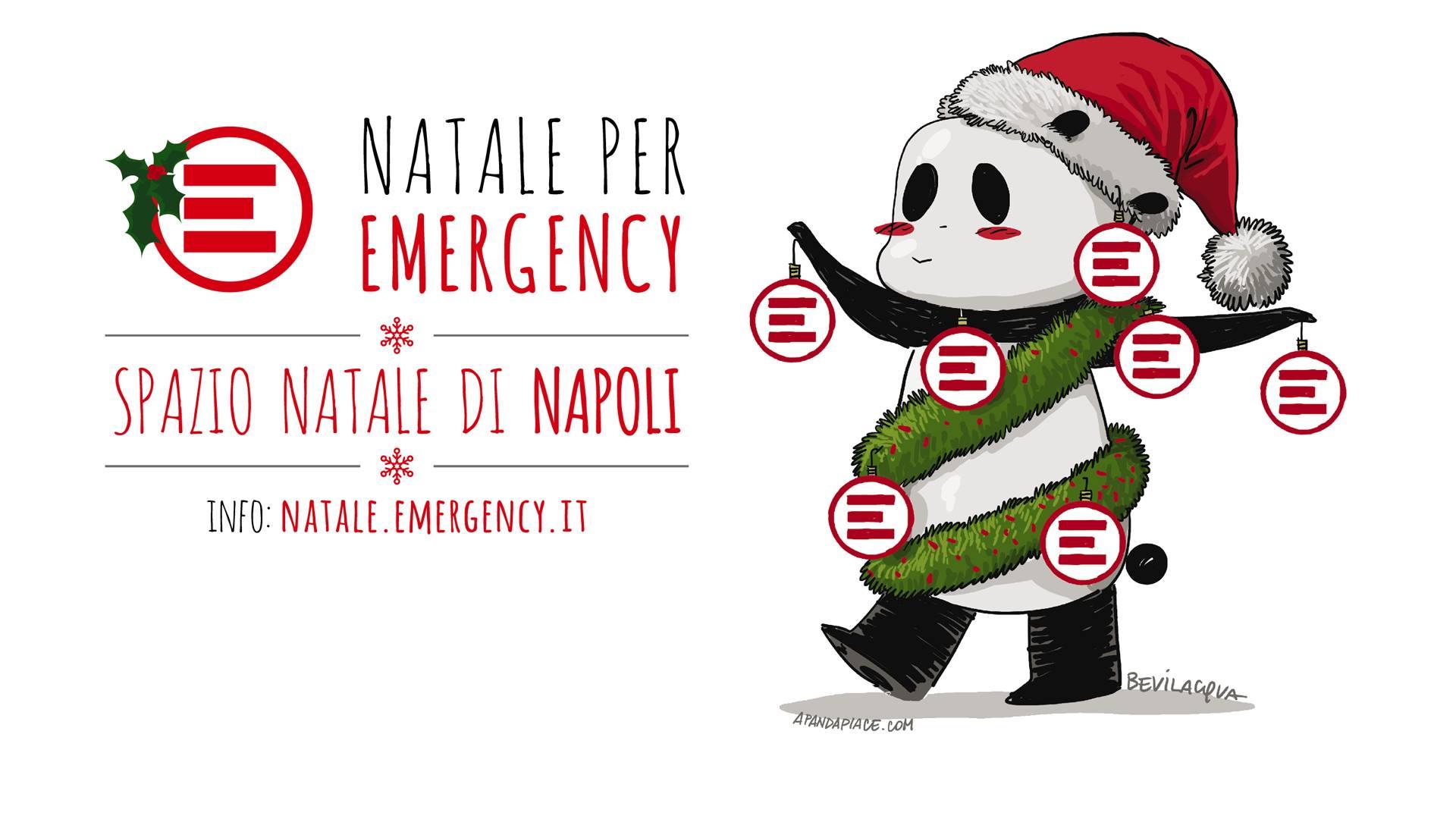 Lo Spazio Natale di Emergency a Napoli