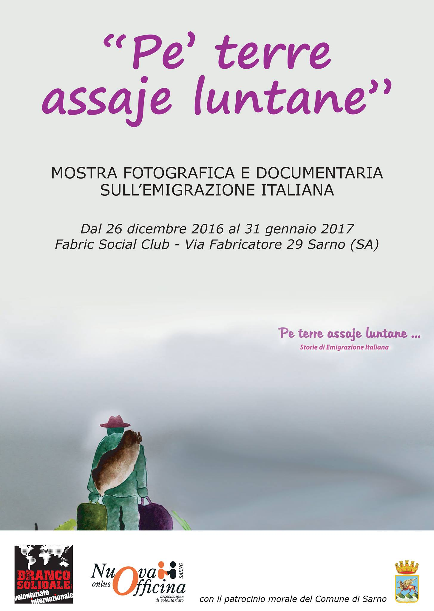 """""""Pe' terre assai luntane"""" - brochure"""
