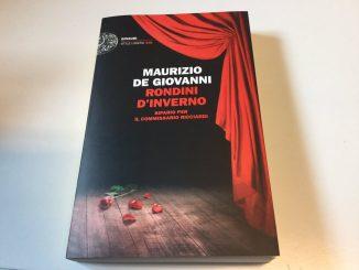 Copertina dell'ultimo libro di Maurizio de Giovanni