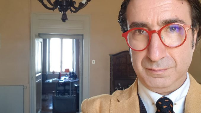 Una foto del consigliere Antonello Manuel Rega