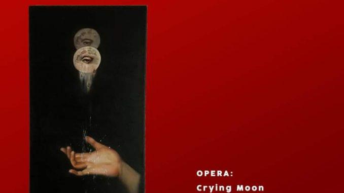 """""""Crying moon"""", la tela della giovanissima Miriam Alycia Crescenzo"""