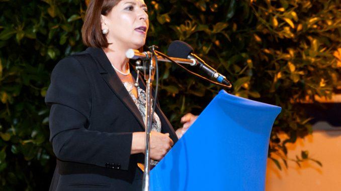 In foto la consigliera Margherita Oliva
