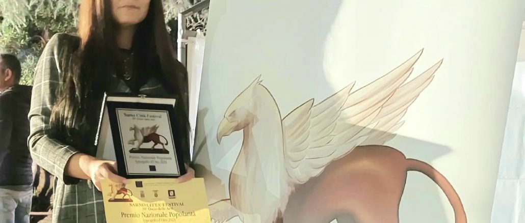 Una foto della premiazione